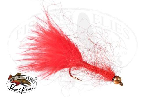 Beadhead Mohair Leech Red