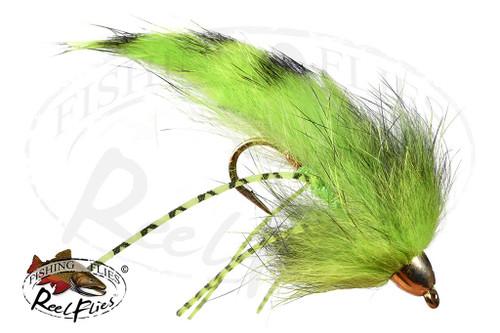 Chartreuse Rubber Leg Zonker