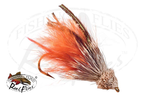 Muddler Minnow Marabou Brown