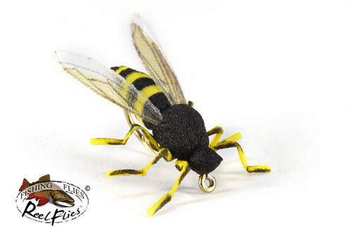 Realistic Yellow Jacket Wasp Fly