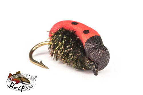 Realistic Lady Bug Fishing Fly
