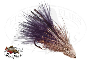Details about  /Fliegentom Streamer 2 pieces Marabou Muddler No 6
