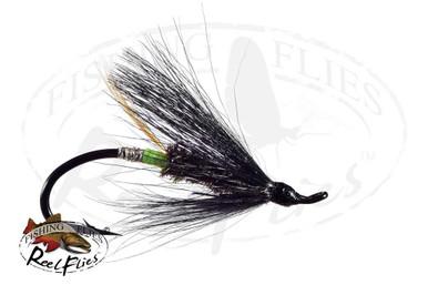 Glitter Bear Green Butt (Salmon Hook)