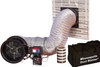 Minneapolis Duct Blaster® System Series B With DG-1000 Pressure and Flow Gauge - DUCT-KIT-001