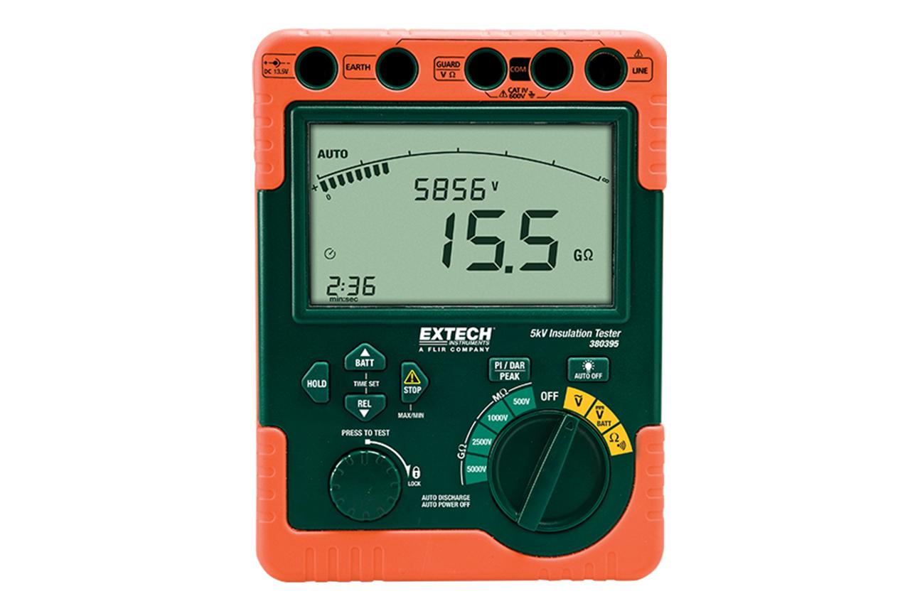 Extech Insulation Tester, High Voltage/220V - 380396