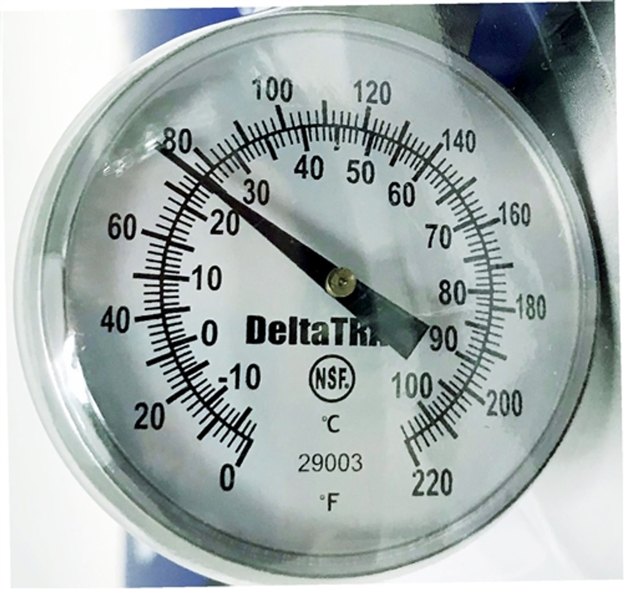 DeltaTrak 29003 NSF Certified 1 3/4 inch Dial Analog Probe Thermometer