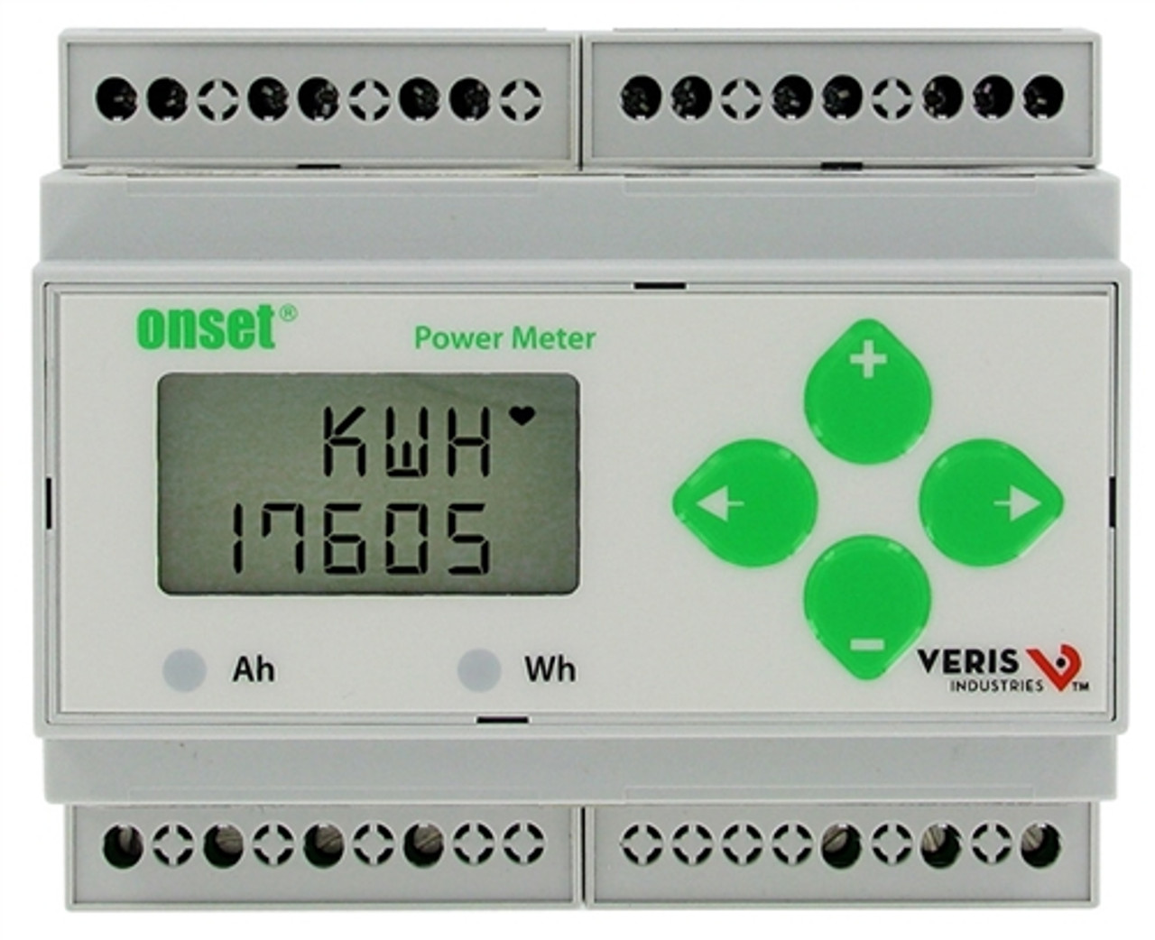 Onset Power Meter 600VAC 3 pulse output - T-VER-E50B2
