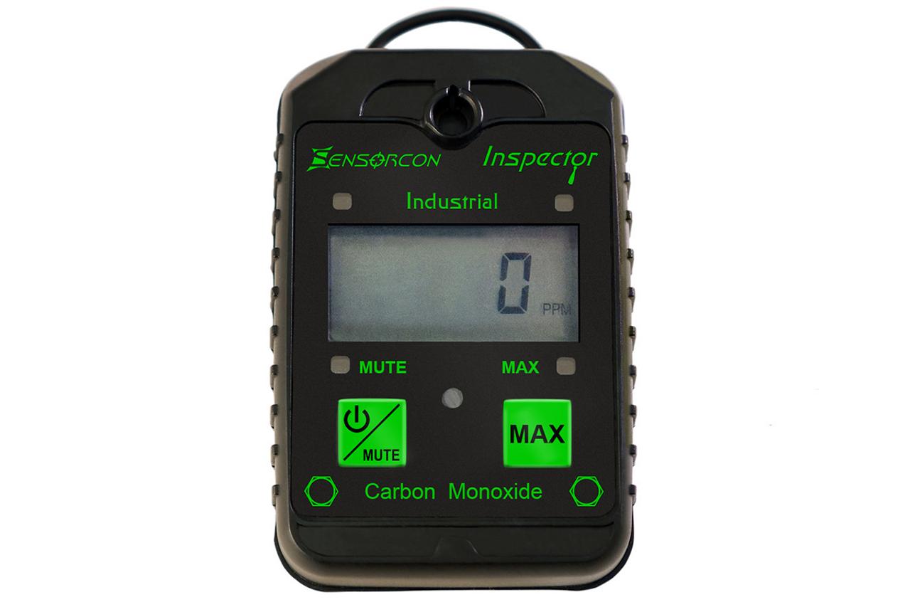 Sensorcon Inspector: Intrinsically Safe Carbon Monoxide Detector & CO Meter