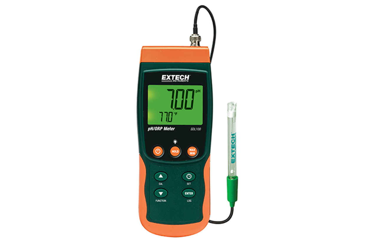 Extech SDL100 pH/ORP/Temperature Datalogger