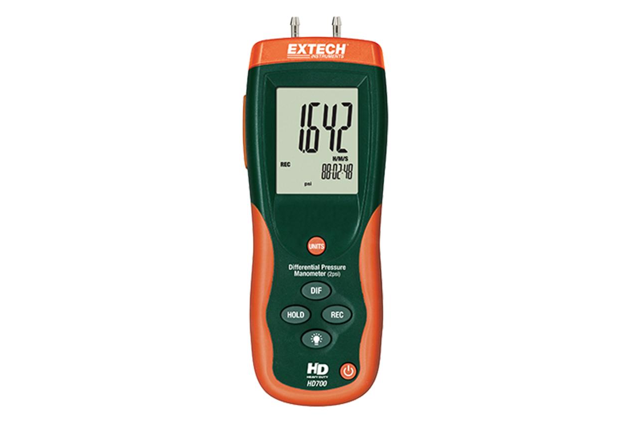 Extech Differential Pressure Manometer (2psi)