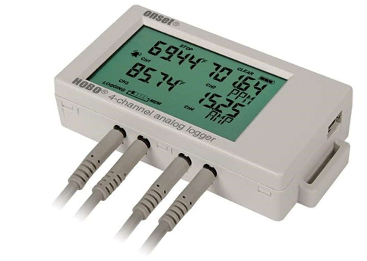 Onset HOBO UX120 4-Channel Analog Logger - UX120-006M