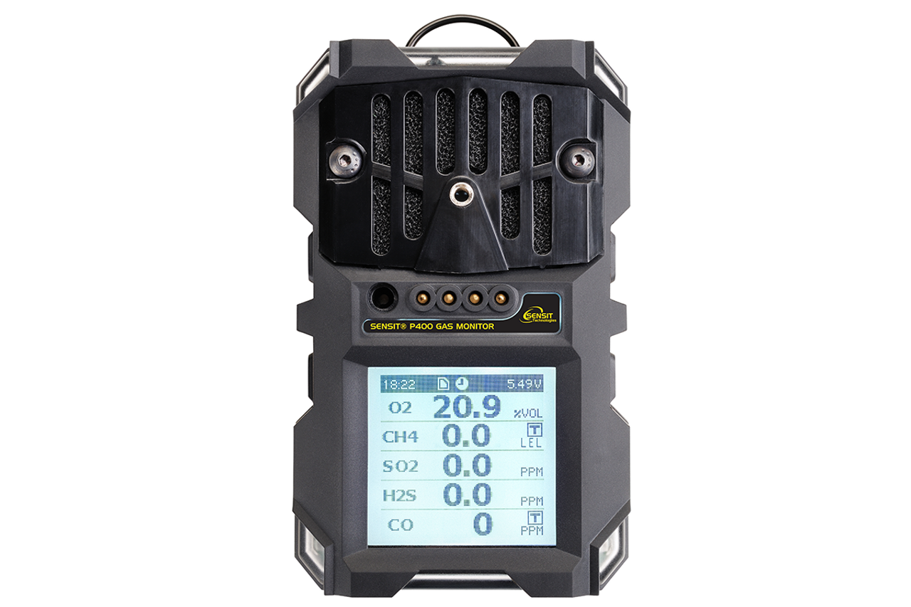 Sensit® P400 WITHOUT Pump 2 Gas (LEL, H2S) 923-00000-17