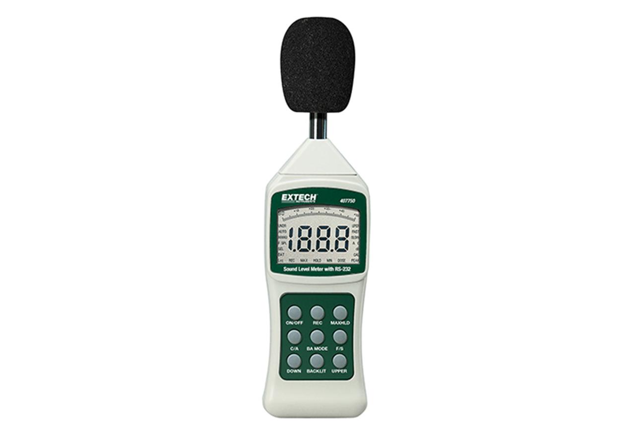 Extech Sound Level Meter w/PC Interface