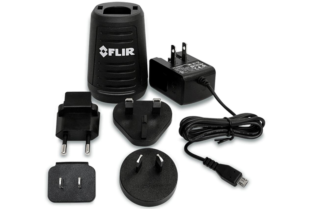 FLIR T198531: Battery Charger for Ex Series Infrared / Thermal Imaging Cameras (E4,E5,E6 & E8)