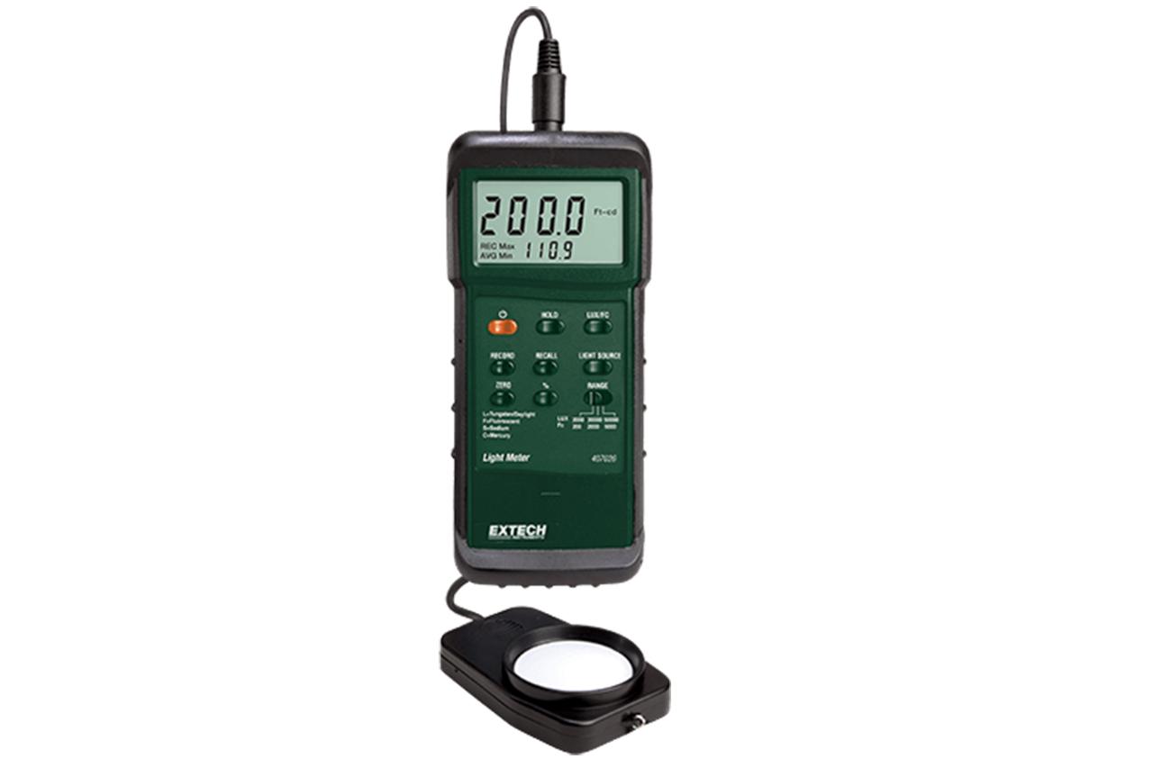 Extech Heavy Duty Light Meter w/PC Interface