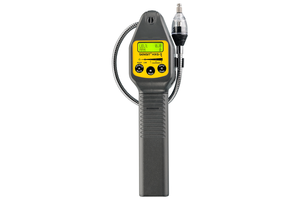 Sensit® HXG-3P Combustible Gas Leak Detector (With Pump) w/ Calibration Kit 907-00000-09