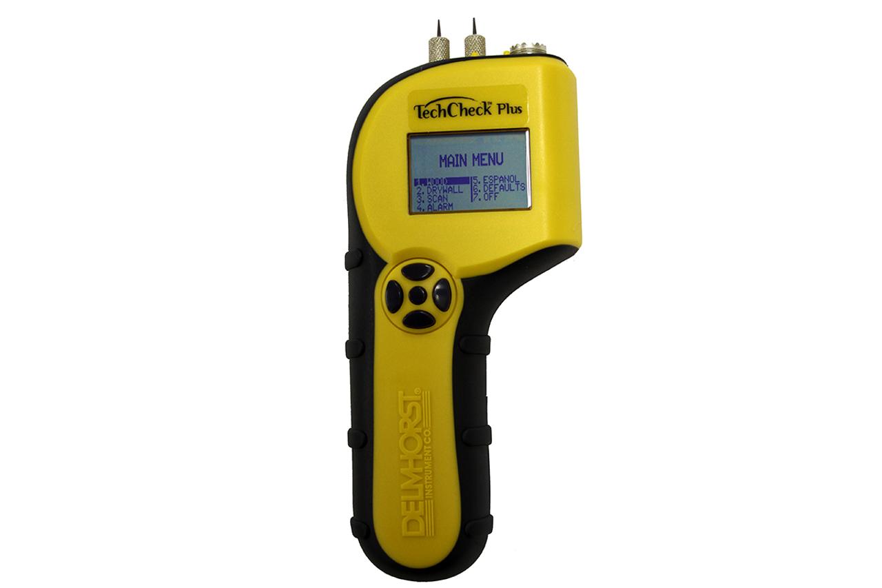 Delmhorst TechCheck PLUS 2-in-1 Dual Mode Moisture Meter TECHCHECK+W/CS