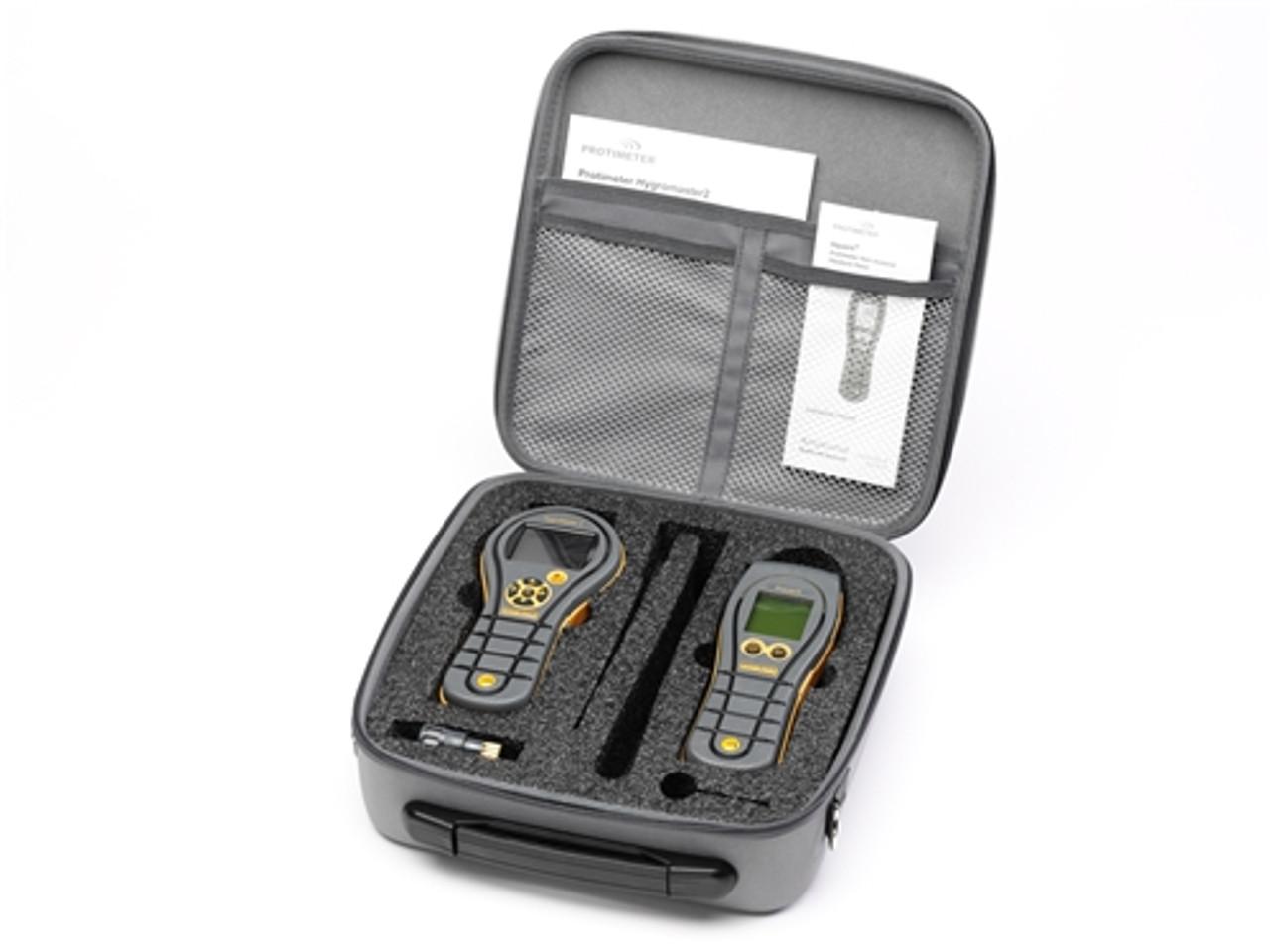Protimeter HygroMaster 2 and Aquant Kit (Temperature, RH & Non-Destructive Moisture Meter) - BLD7714-AQ