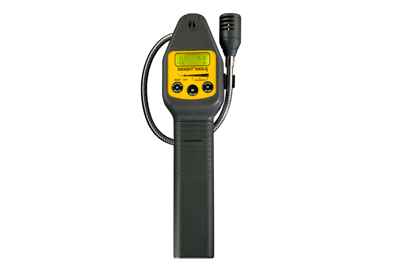 Sensit® HXG-3 Combustible Gas Leak Detector (Without Pump)  w/ Calibration Kit 907-00000-04