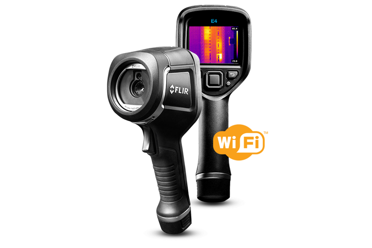 FLIR E4 Infrared Camera 80x60 with WiFi - 63906-0604