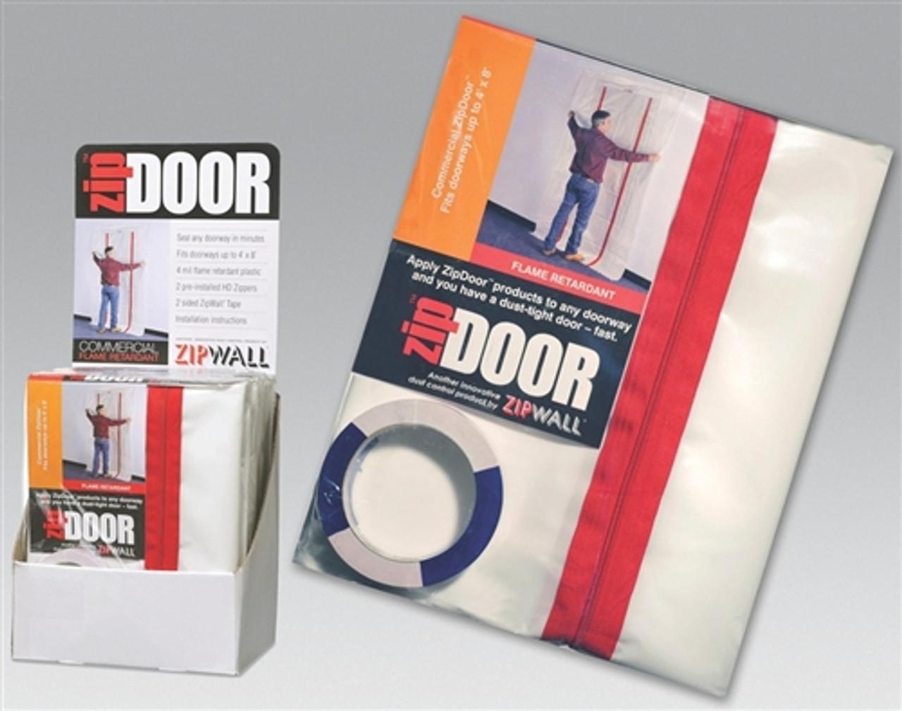 ZipWall® ZipDoor Commercial - Fire Rated