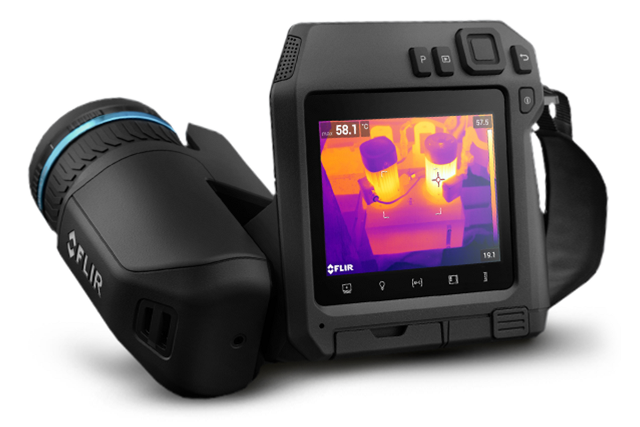 FLIR T540 w/24° + 14° & 42° Lens, 464x348, -20°C to 1500°C - 79306-0201