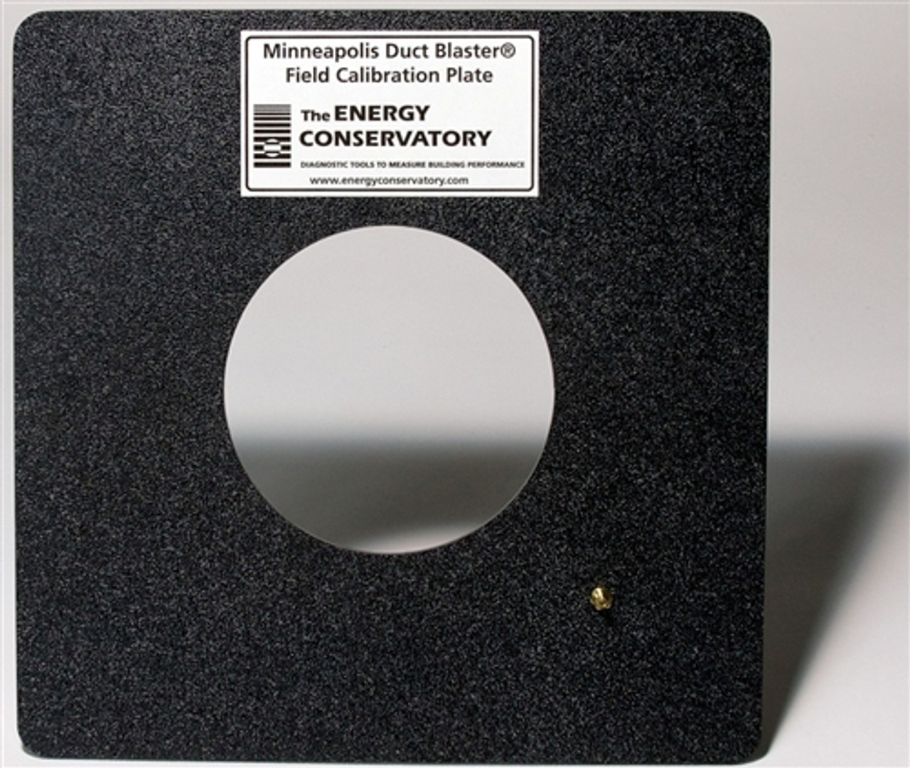 The Energy Conservatory Minneapolis Duct Blaster Field Calibration Plate DUCTCALPLT