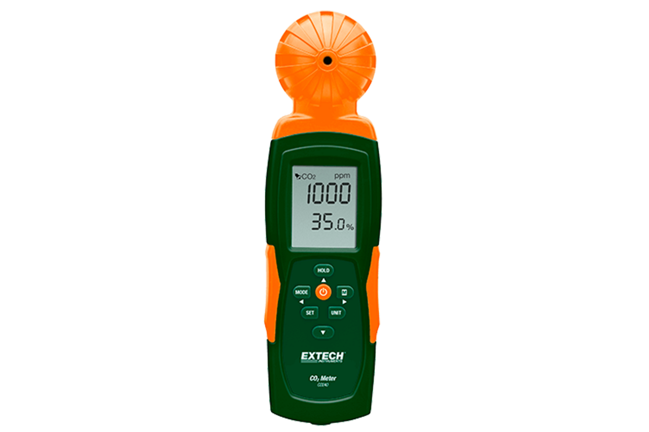 Extech Portable Indoor AIR Quality Carbon Dioxide Meter - CO240