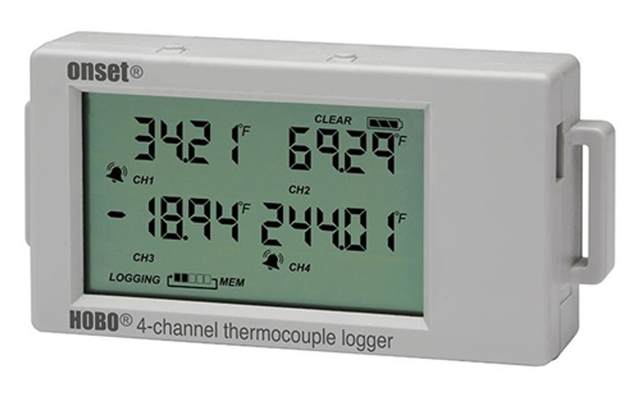 Onset HOBO UX120 4-Channel Thermocouple Logger - UX120-014M