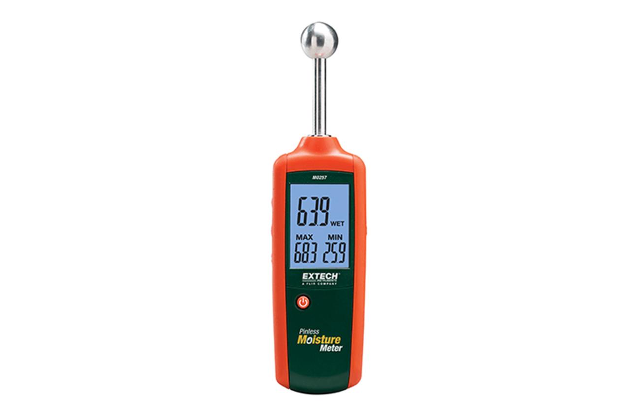 Extech MO257: Pinless Moisture Meter