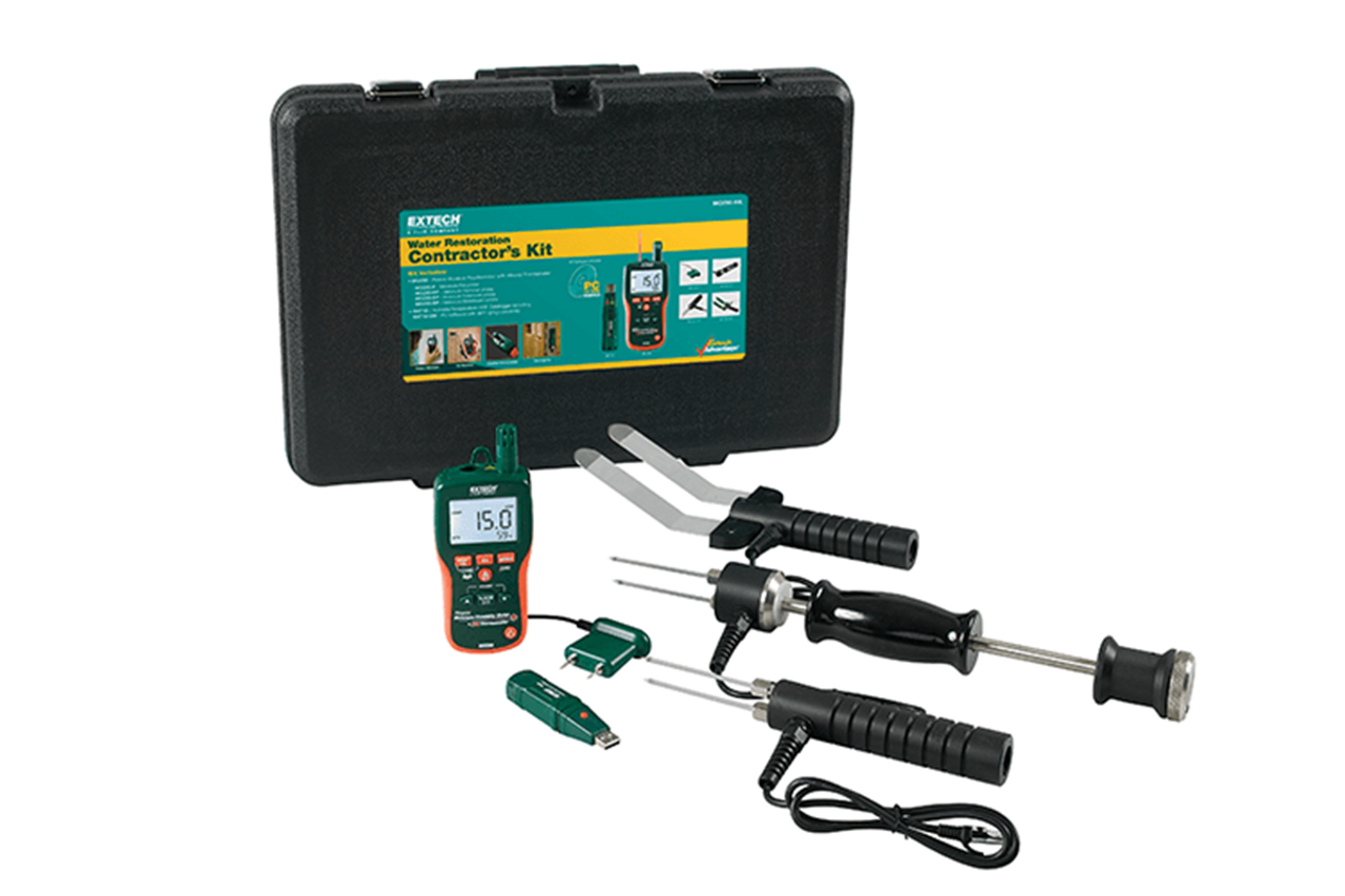 Extech MO290 Water Restoration Contractor Kit - MO290-RK