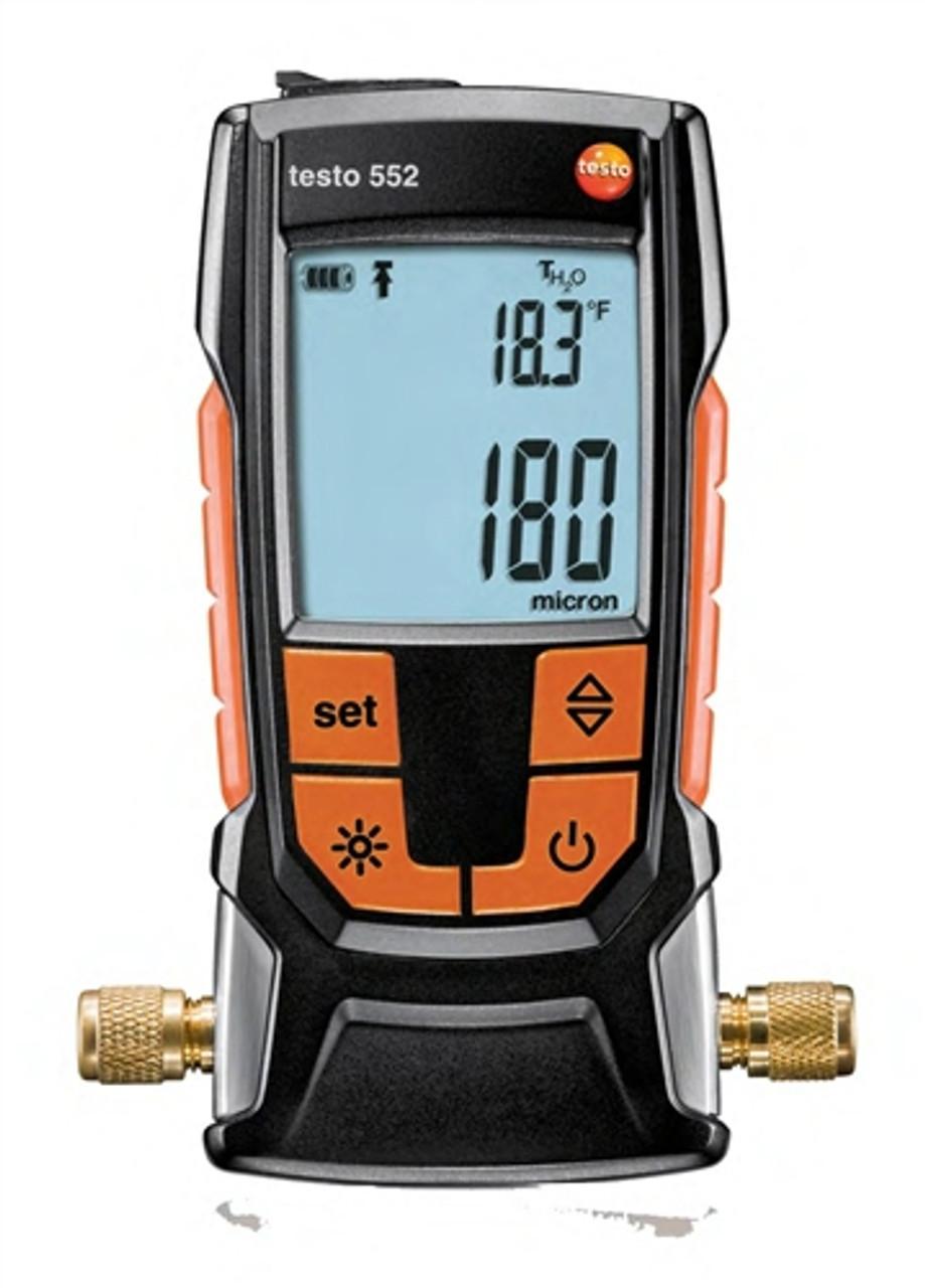 Testo 552 Digital Vacuum Gauge 0560 5520 01