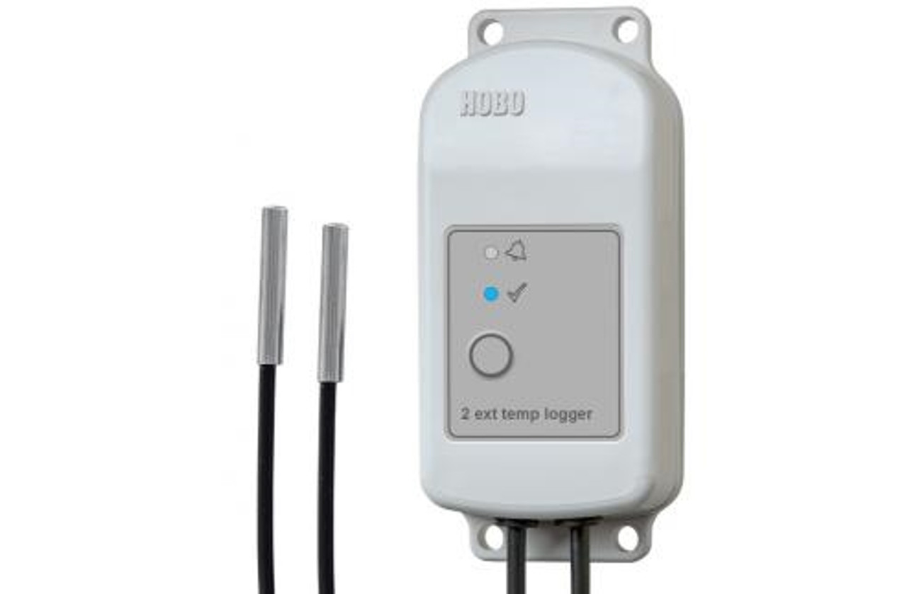Onset HOBO MX2303 Bluetooth Two External Temperature Sensors Data Logger - MX2303