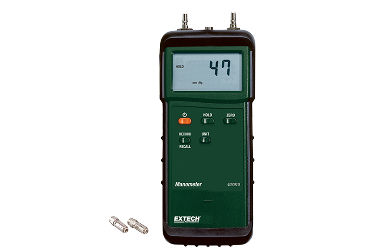 Extech Heavy Duty Differential Pressure Manometer