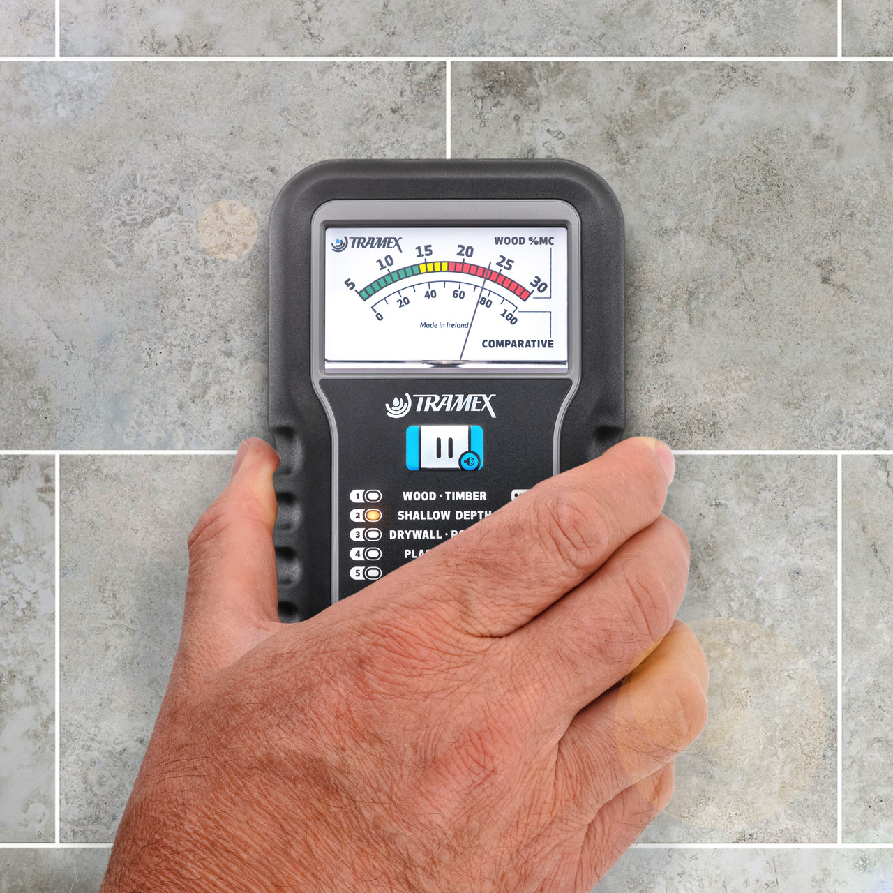 TRAMEX ME5, Moisture Encounter Five, Non-destructive Moisture Meter