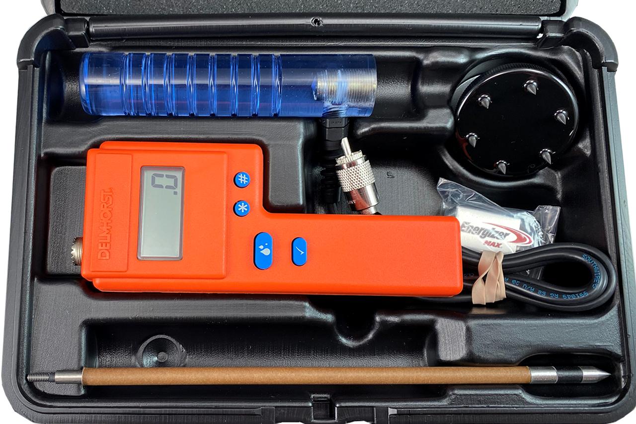 Delmhorst F2000 HEMP Deluxe Package Hay Moisture Meter