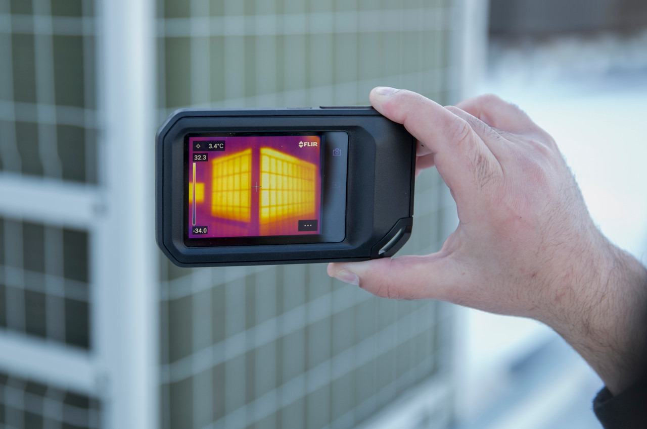 FLIR C5 Compact Professional Thermal Camera w/MSX and WiFi 160 x 120 Resolution/9Hz - 89401-0202