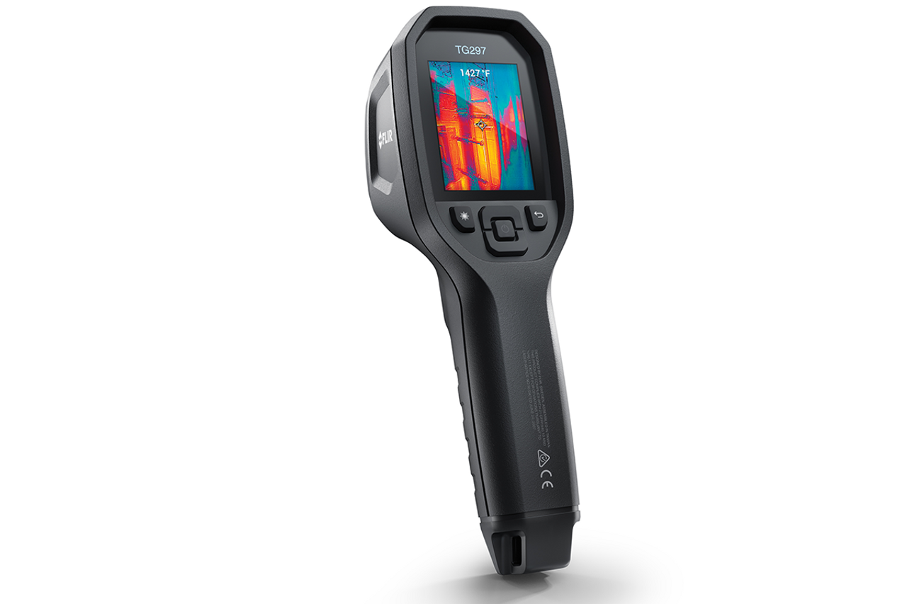 FLIR TG297  Industrial High Temp Spot Thermal Camera 160 x 120 Resolution/9Hz - 87504-0404