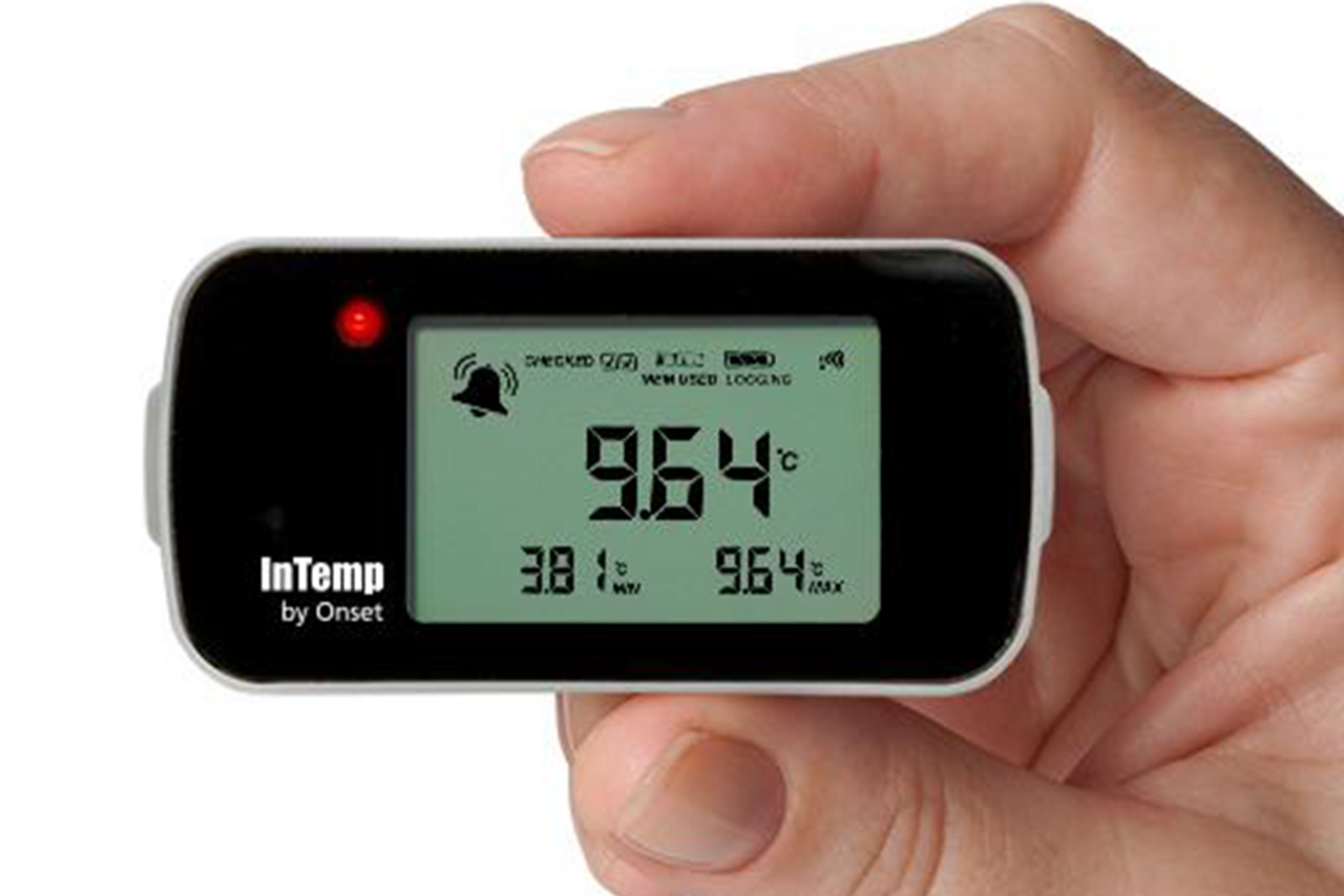 Onset InTemp CX402-T205 Bluetooth Low Energy Temperature (with Glycol) Data Logger