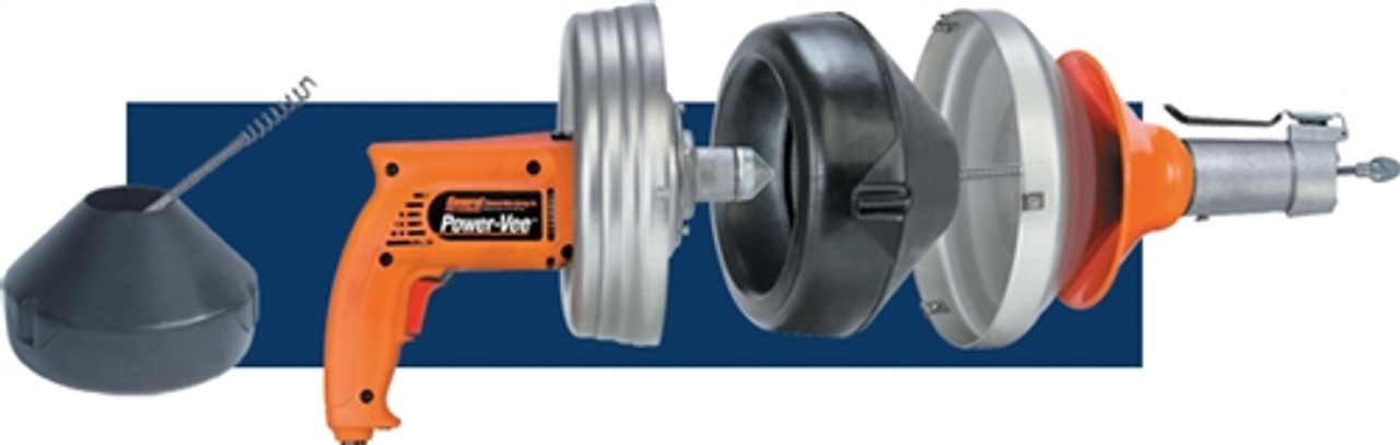 General Wire Power Vee With power cable feed - works great in tight spots - PV-C-WC