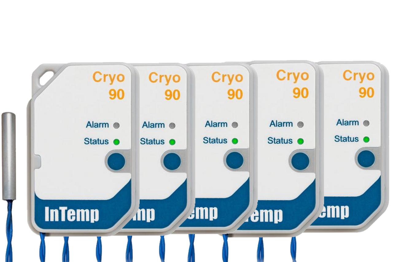 Onset InTemp CX702 Cryogenic Logger - (5 Pack) 90 Day Single Use Data Logger