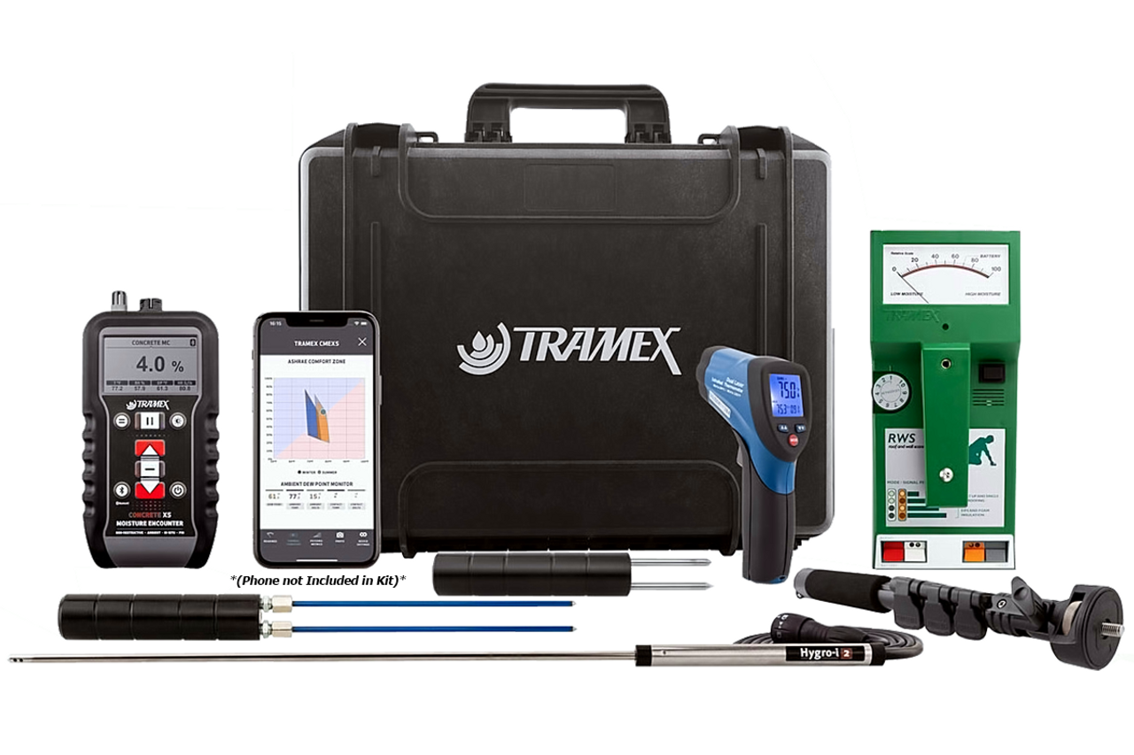 Tramex Roof Inspection Kit - RIK