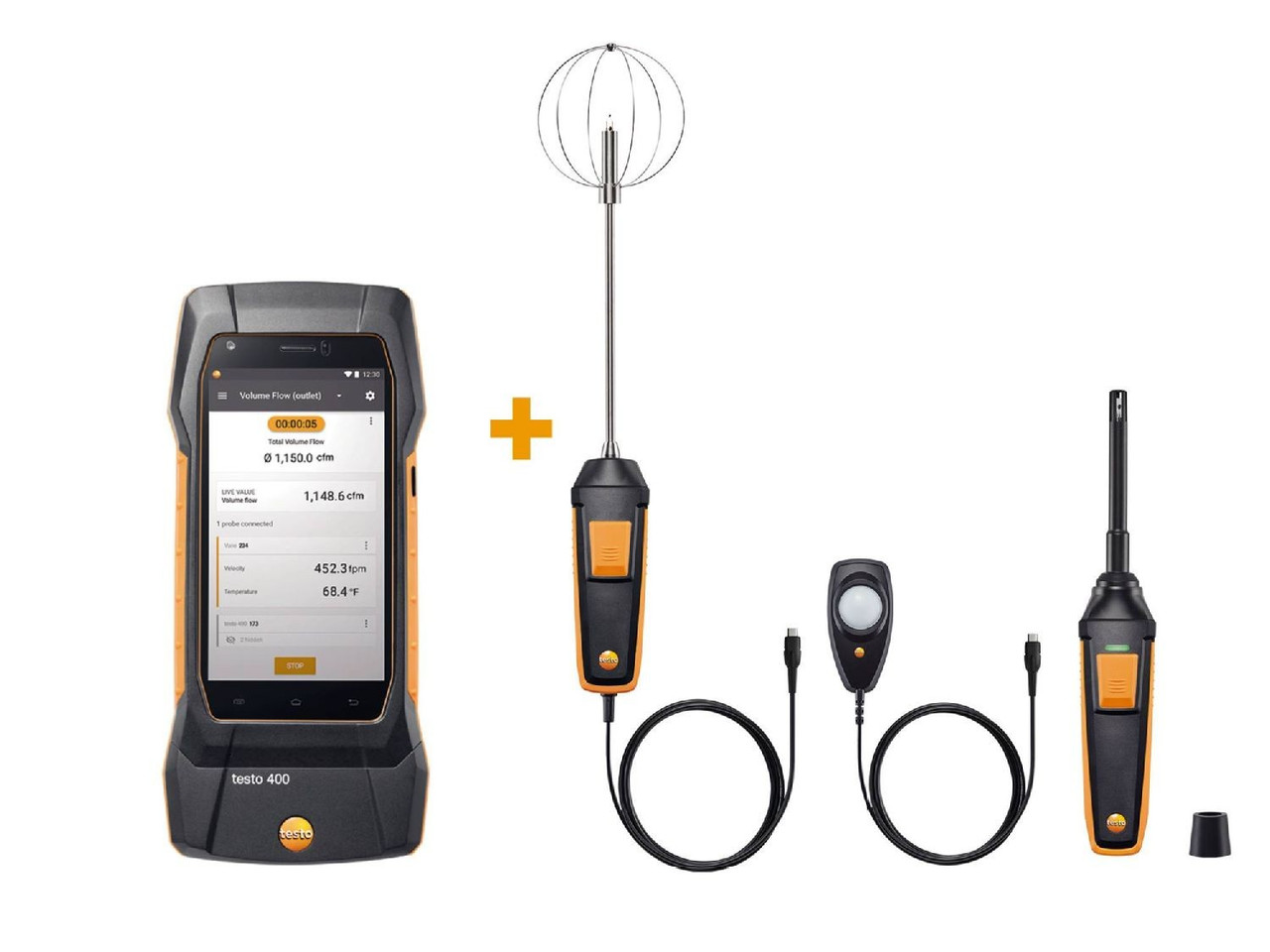 testo 400 Comfort kit - for comfort professionals in high performance buildings - 0563 0409
