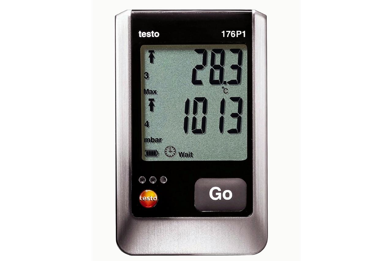 testo 176 P1 5-channel temp/RH/pressure logger