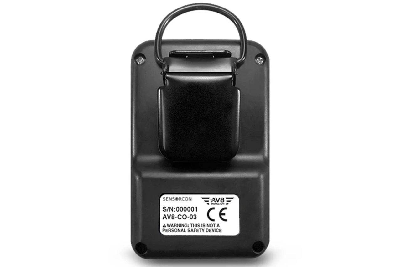 Sensorcon AV8 Inspector Pro Carbon Monoxide Monitor for Aviation - AV8-CO-03