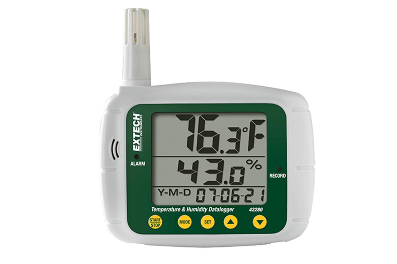 Extech Temperature & Humidity Datalogger