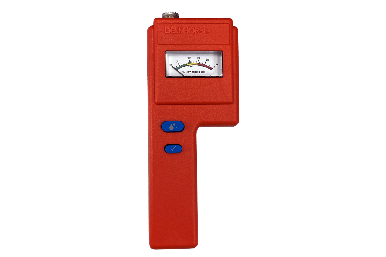 Delmhorst F-6 Hay Moisture Meter (Instrument ONLY! No Probes/Prods or handles.)