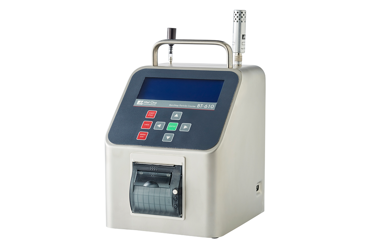 Met One Portable BT-610 Bench-Top Particle Counter