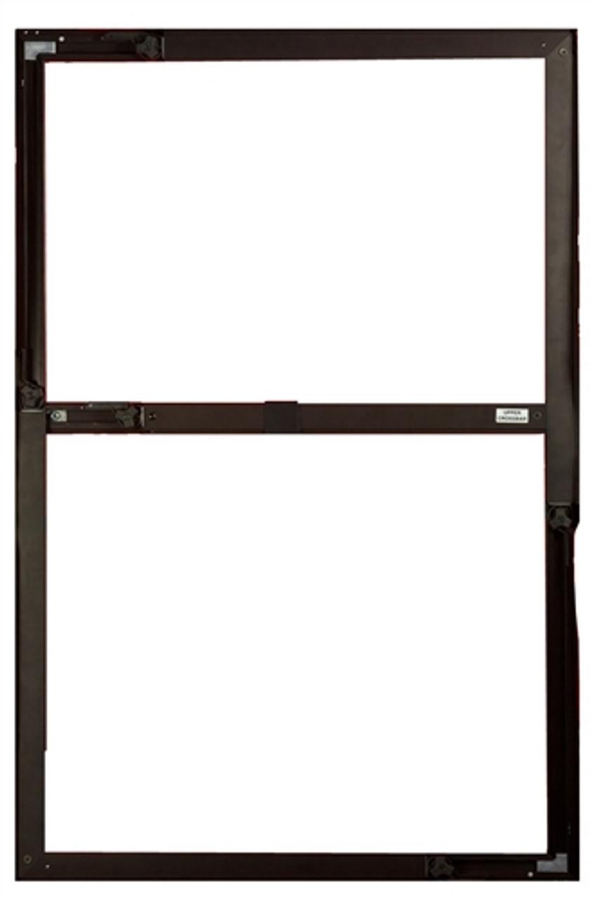 The Minneapolis Duct Blaster Window Panel Aluminum Frame - ALUMCORWIN