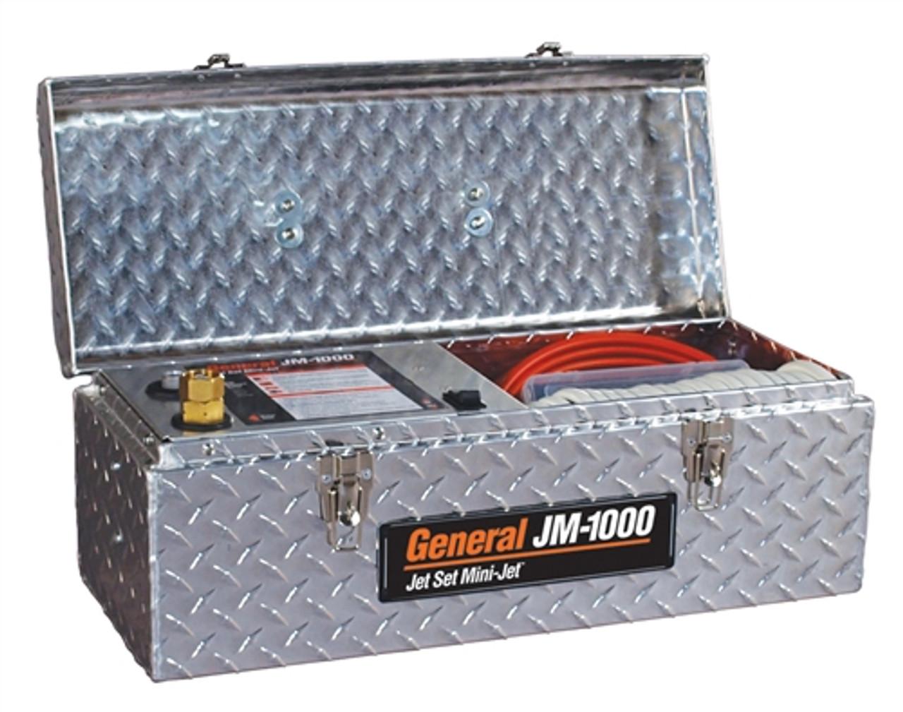 General Wire JM-1000 Mini-Jet with 50' Hose - JM-1000-B